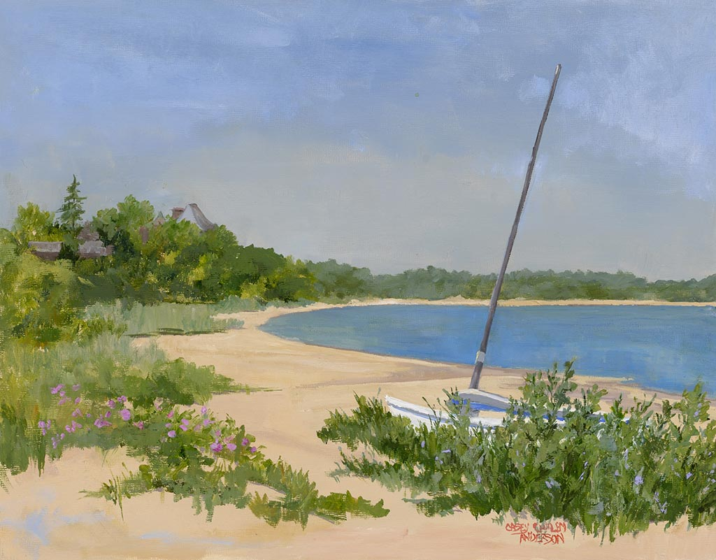 Havens Beach Sag Harbor, 11 x 14, oil on panel