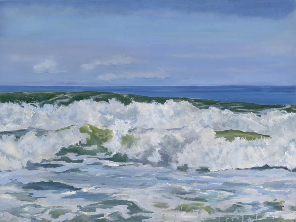 Rough Surf, 30 x 40