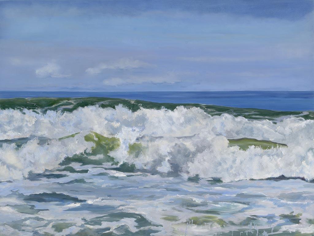 Rough Surf, 30 x 40