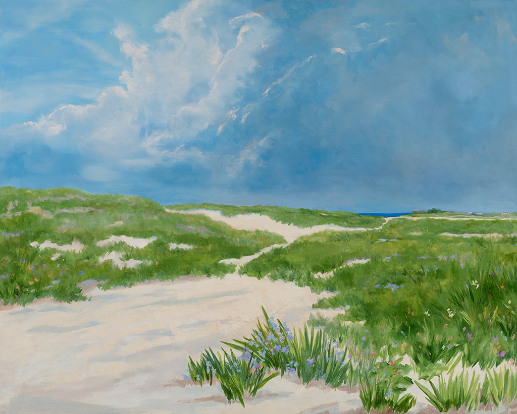 Sag Pond Dunes, 40 x 50, oil on canvas