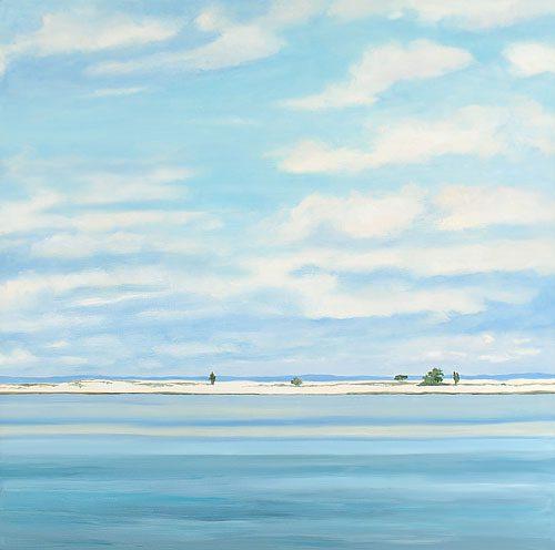 Cerulean Dream Print, 24 x 24, oil on canvas