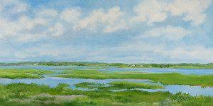 Salt Marsh, 30 x 60, oil on canvas, $4,200