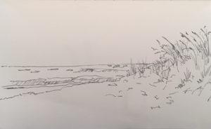Sketch Ocean Road