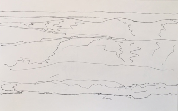 Two Minute Ocean Sketches